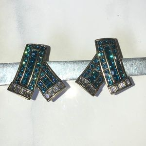 "Heidi Daus clip on earrings""  Keep Sparkling ""NIB"
